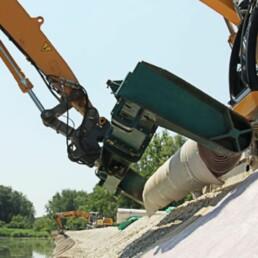 Hochwasserschutz Bau Dobler Bau
