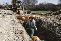 Rohrleitungsbauer Dobler Bau