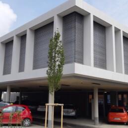 Sichtbetonfassaden Feuerwache GZ Fassade Front