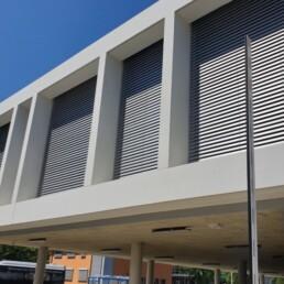 Sichtbetonfassaden Feuerwache GZ Fassade Dobler Bau