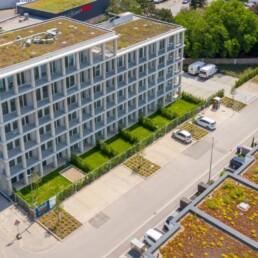 Sichtbetonfassaden Neu-Ulm Blautal Dobler Bau