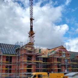 Neubau Dachstuhl Zimmerer Dobler Bau
