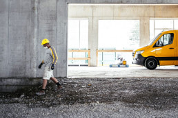 Bauschnelldienst Baustelle Dobler Bau